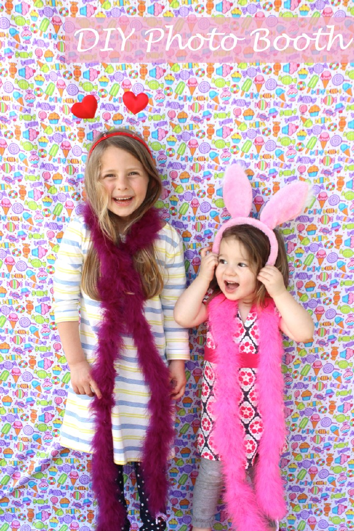 DIY Kids Photo Booth from The Art Pantry