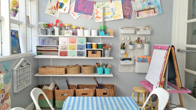 Benefits Of An Organized Art Area The Pantry
